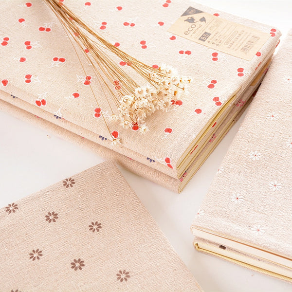 1pcs Creative Linen Notebook Large B5daily Notepad Thickened Workbook 66 Printed Logo