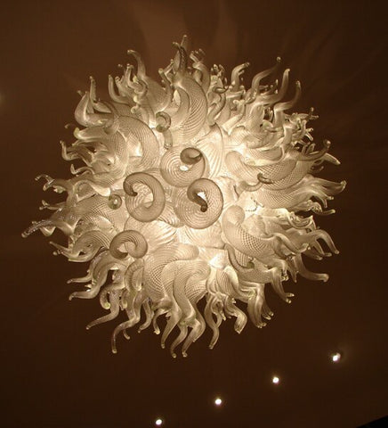 LED Lighting Hand Blown Glass Art Murano Chandelier