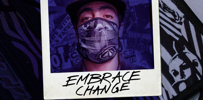 Free Volcom facemask with every purchase from the new collection*