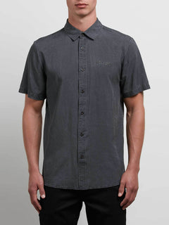 Chill Out Short Sleeve Shirt - Black