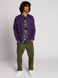 Fitzkrieg Shirt  - Dark Purple
