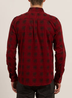 Maxwell Long Sleeve Shirt - True Red