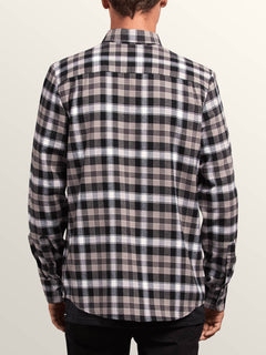 Caden Plaid Shirt - Black