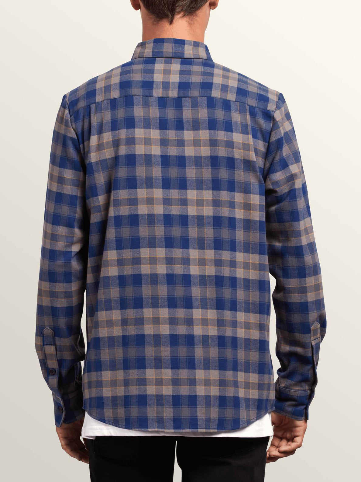 Caden Plaid Shirt - Matured Blue