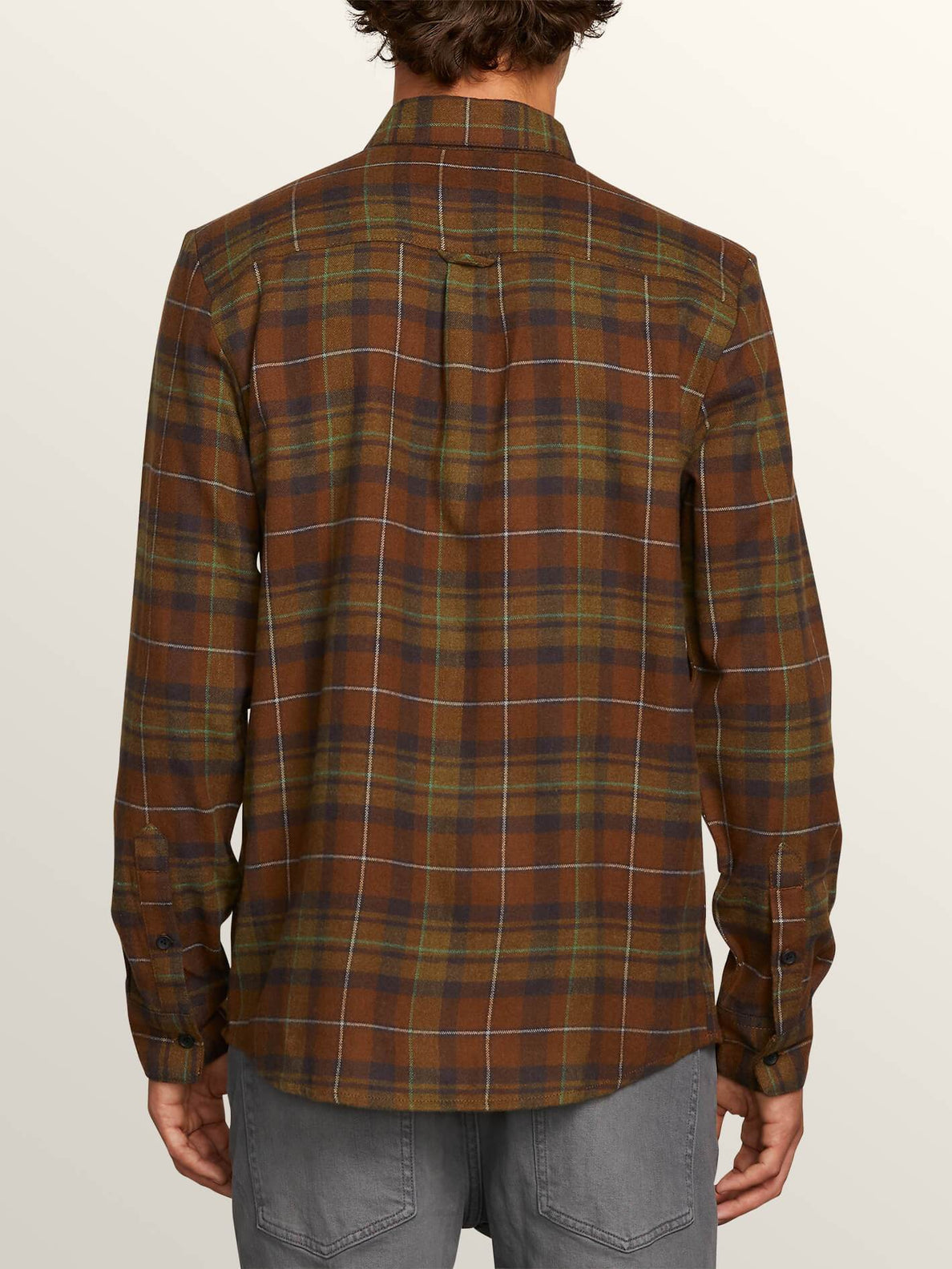 Lumberg Long Sleeve Flannel - Vineyard Green
