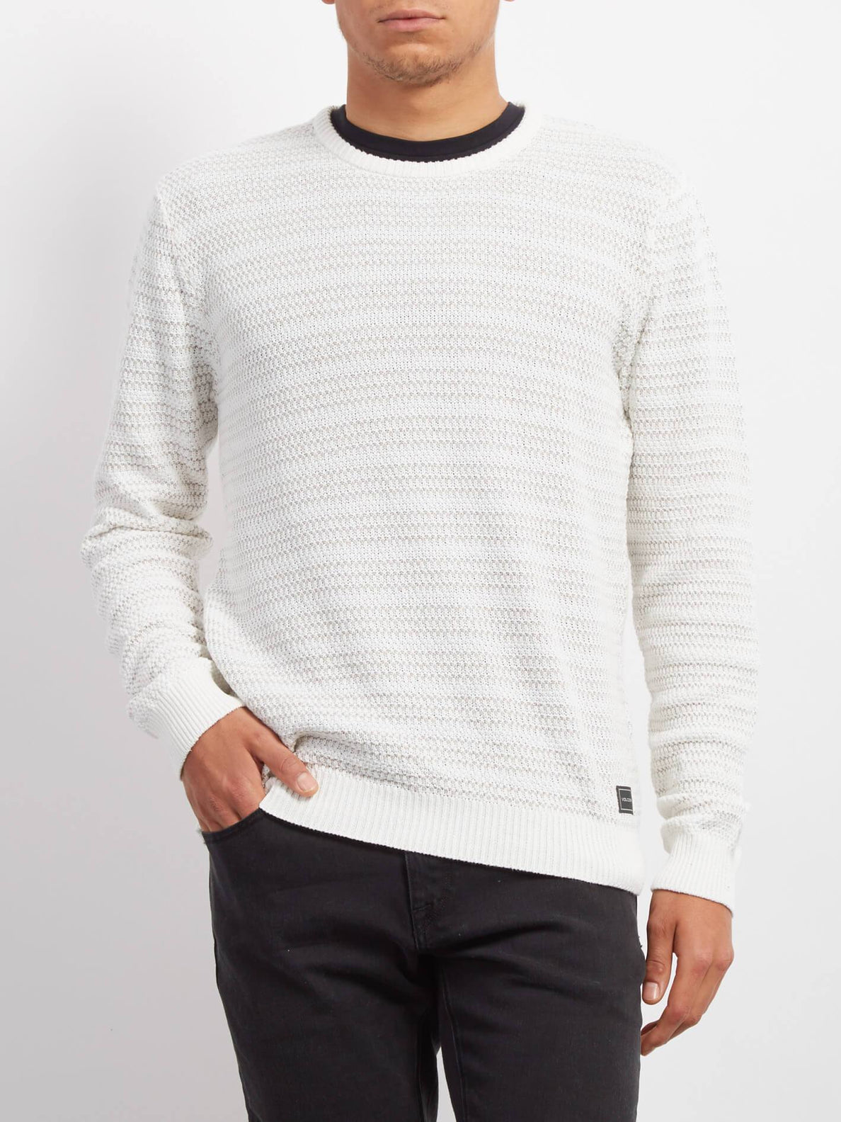 New Stone Pullover - Pewter
