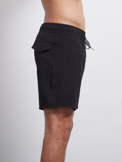 Case Stoney 16 Boardshort - Black