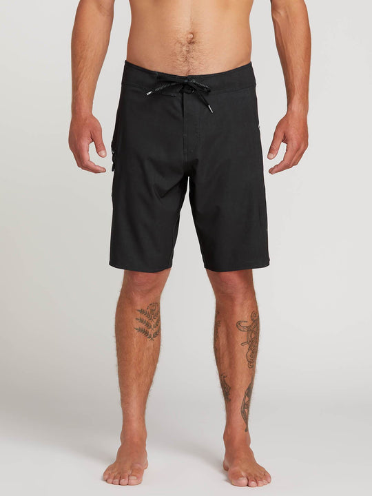 "Deadly Stones 20"" Boardshort  - Black"