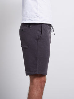Litewarp Fleece Short - Heather Black