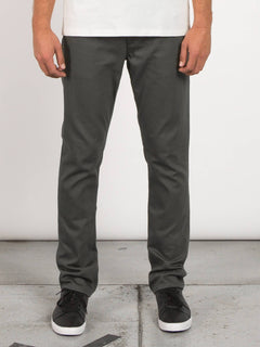 Vorta 5 Pocket Slub Slim Fit Jeans - Military