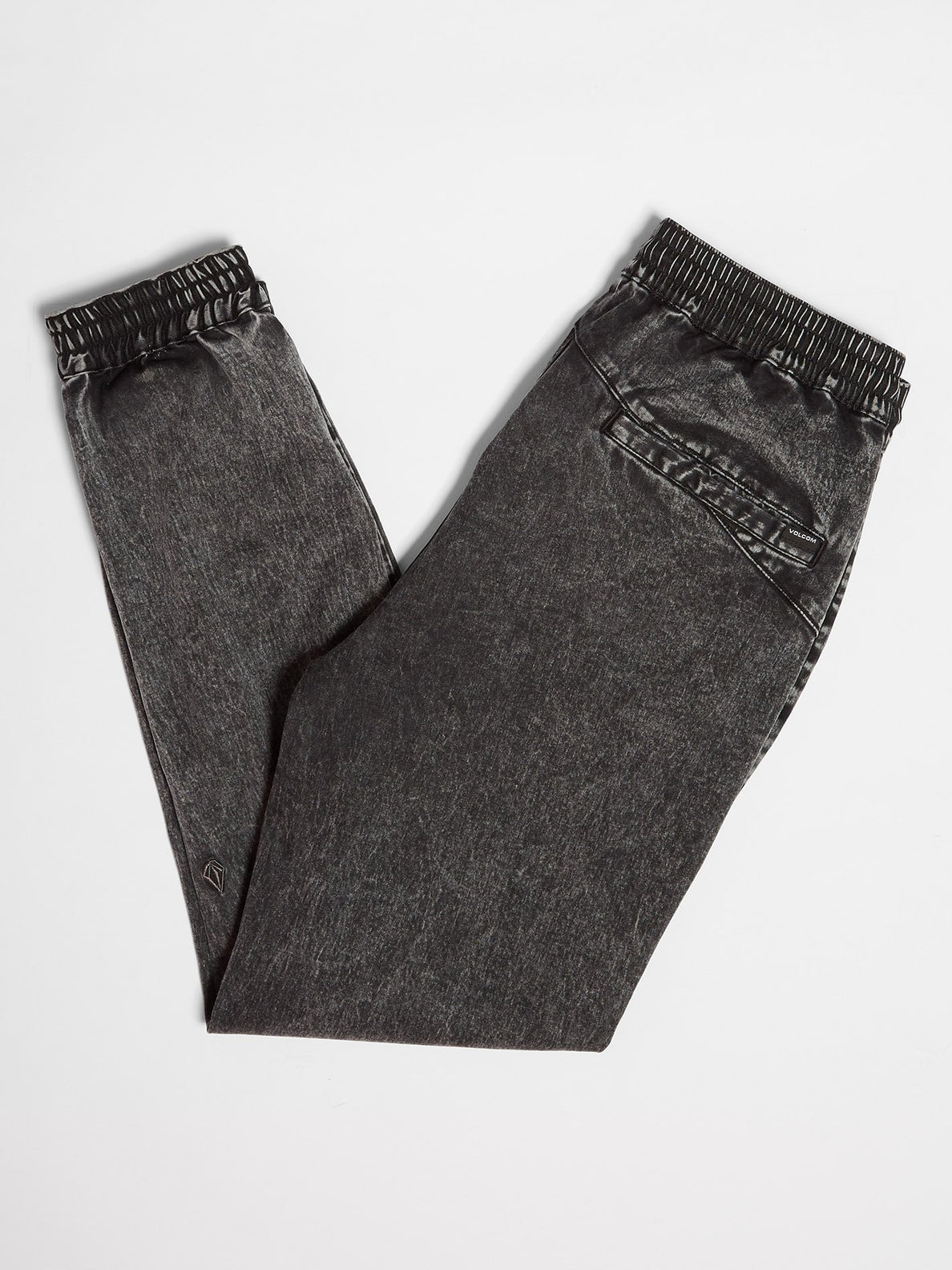 Denim Jogger Pant - Black (A1211901_BLK) [2]