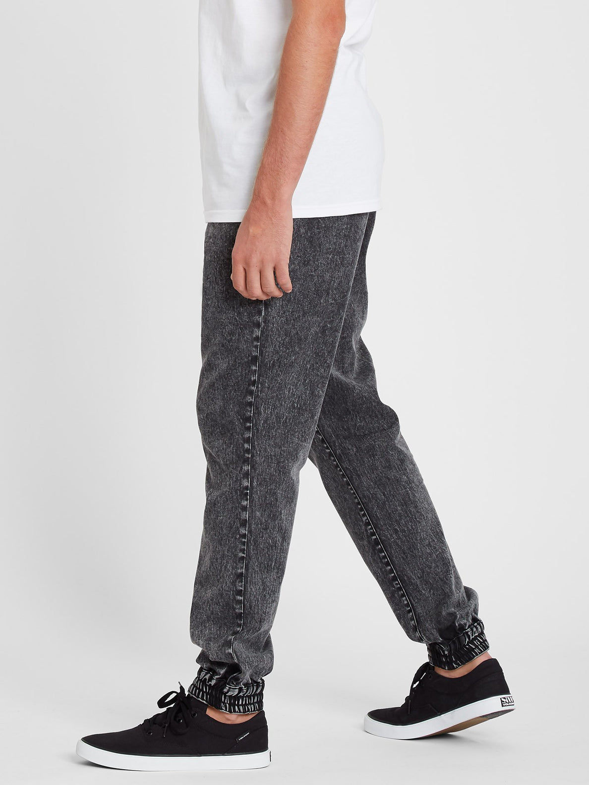 Denim Jogger Pant - Black (A1211901_BLK) [3]