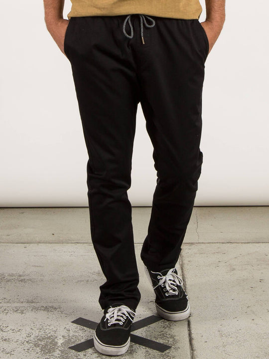 Frckn Comfort Chino Trousers - Black