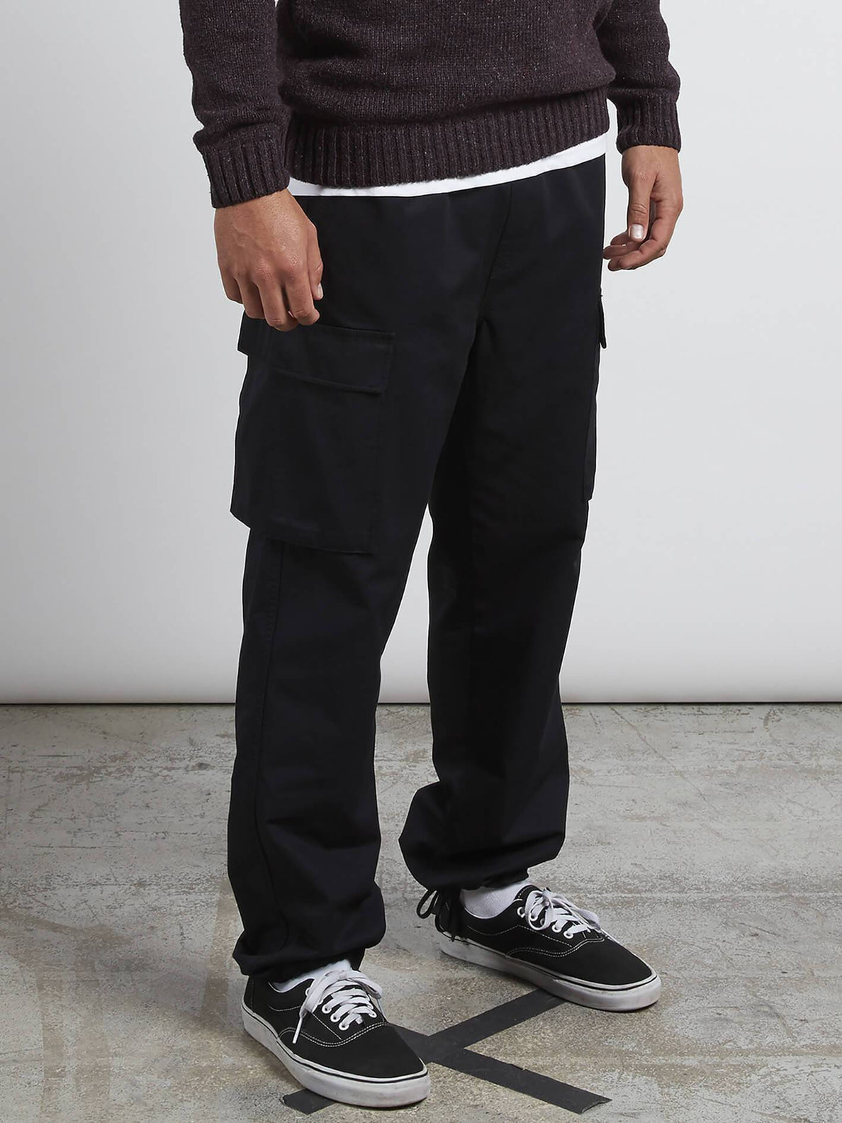 A.P. Cargo Trousers - Black