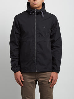 Howard Hooded Jacket - Black