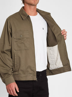 Central Drive Jacket - Tarmac Brown (A1532000_TMB) [4]