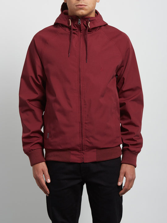 Raynan Jacket - Crimson