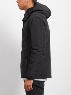 Stone Storm Lined Jacket - Black