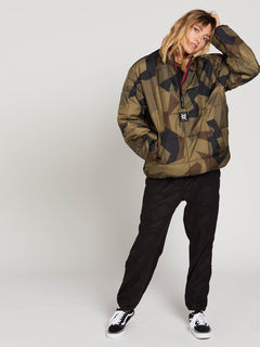 A.P.#2 Puff Liner Jacket - Camouflage (UNISEX)