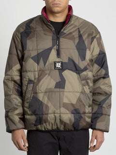 A.P.#2 Puff Liner Jacket - Camouflage (A1631951_CAM) [F]