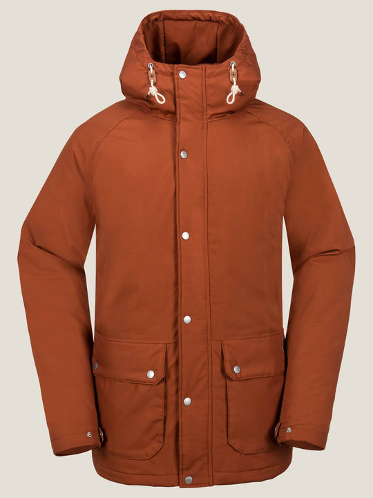 Wenson Winter Parka - Copper