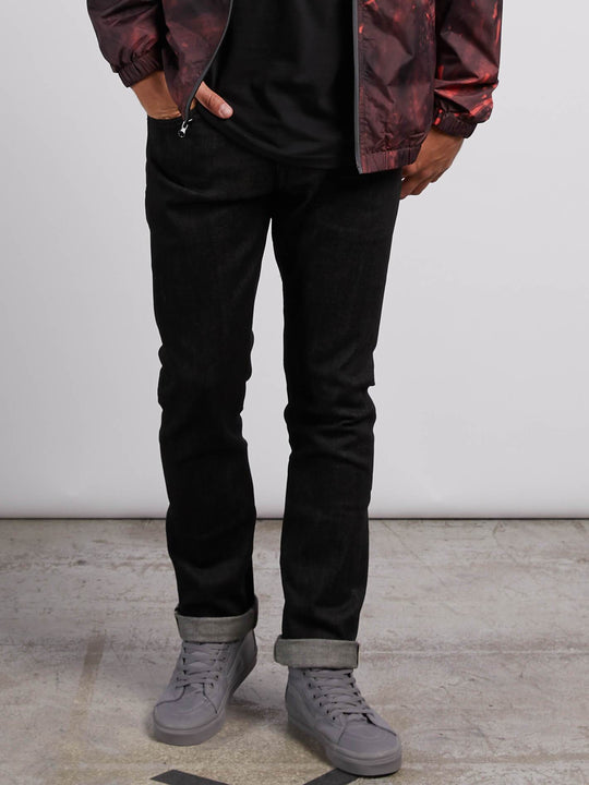 Vorta Slim Fit Jeans - Black Selvedge