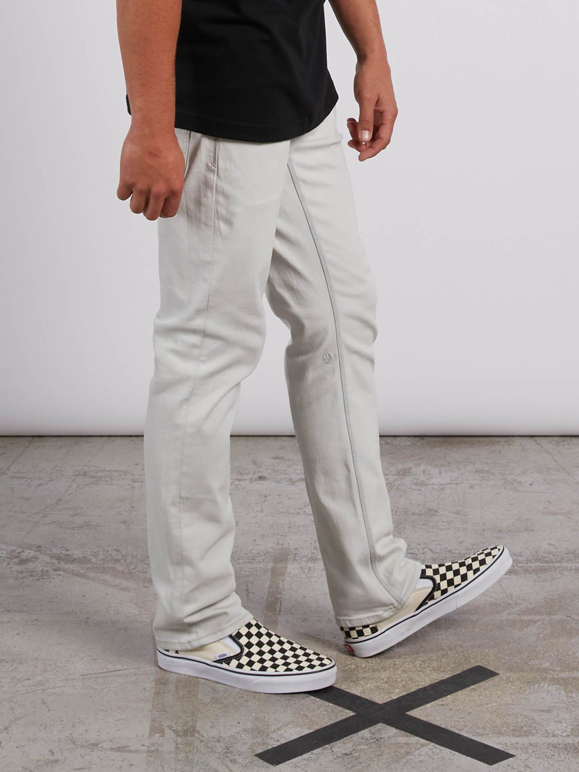 Vorta Slim Fit Jeans - Dirty White