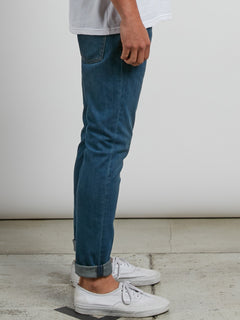 Vorta Tapered Jeans - Dust Bowl Indigo