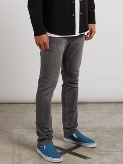 Solver Tapered Jeans - Brushed Nickle