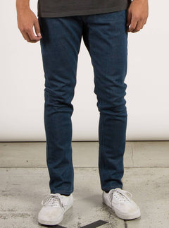 Solver Tapered Jeans - Free Blue