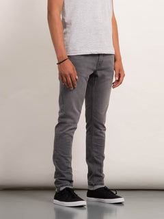 2X4 Tapered Jeans - Cement Grey