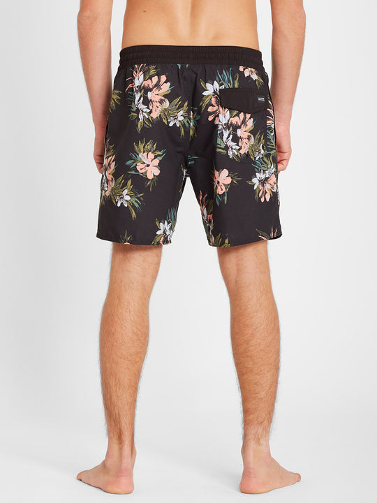 "Earthly Delight Trunk 17"" Boardshort - Black (A2512101_BLK) [B]"
