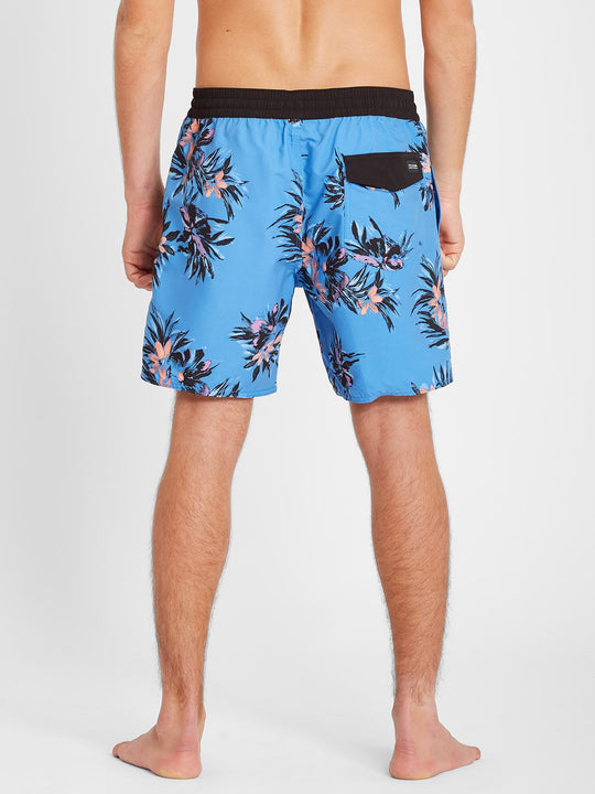 "Earthly Delight Trunk 17"" Boardshort - Ballpoint Blue (A2512101_BPB) [B]"