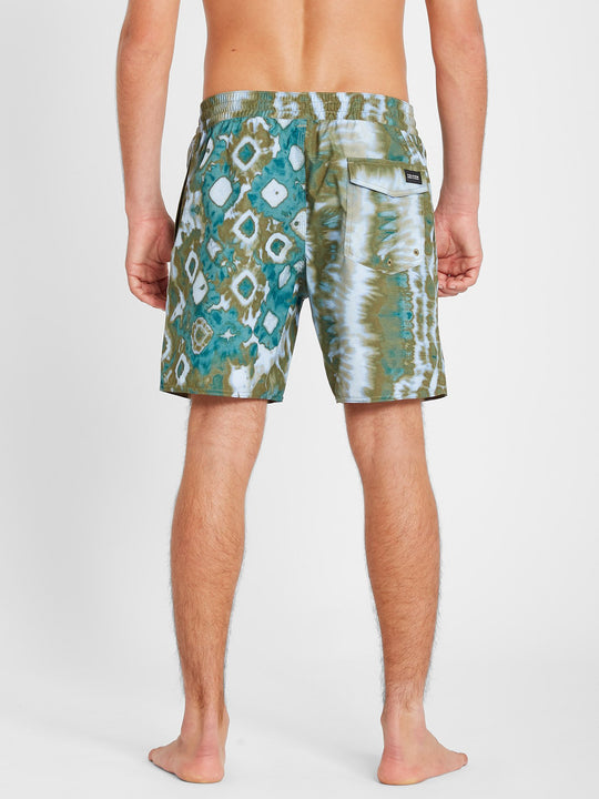 "Earthly Delight Trunk 17"" Boardshort - Spruce Green (A2512101_SUG) [B]"
