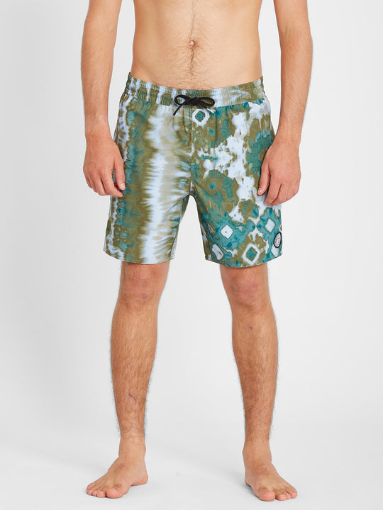 "Earthly Delight Trunk 17"" Boardshort - Spruce Green (A2512101_SUG) [F]"