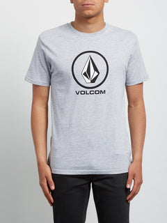 Crisp Tee - Heather Grey