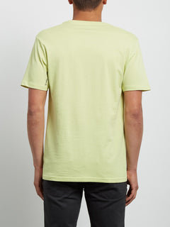 Crisp Euro Tee - Shadow Lime