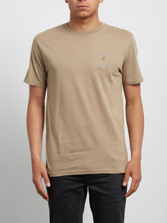 Comes Around Tee - Sand Brown