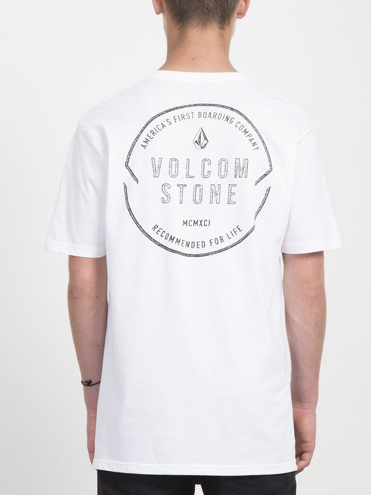 Chop Around T-shirt  - White