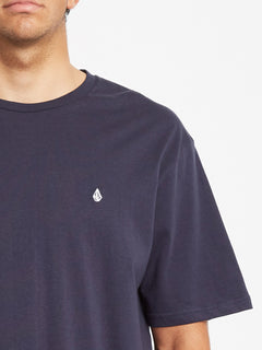 Stone Blanks T-shirt - Navy (A3512056_NVY) [2]