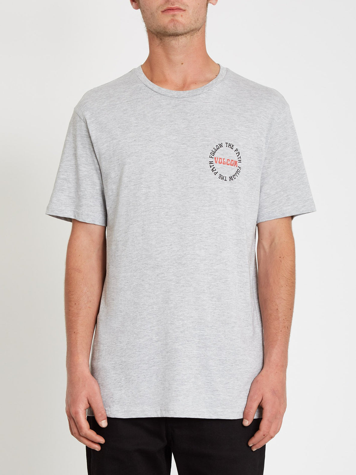 Dither T-shirt - Heather Grey (A3512119_HGR) [3]