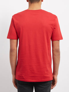 Crisp Stone T-shirt - Engine Red