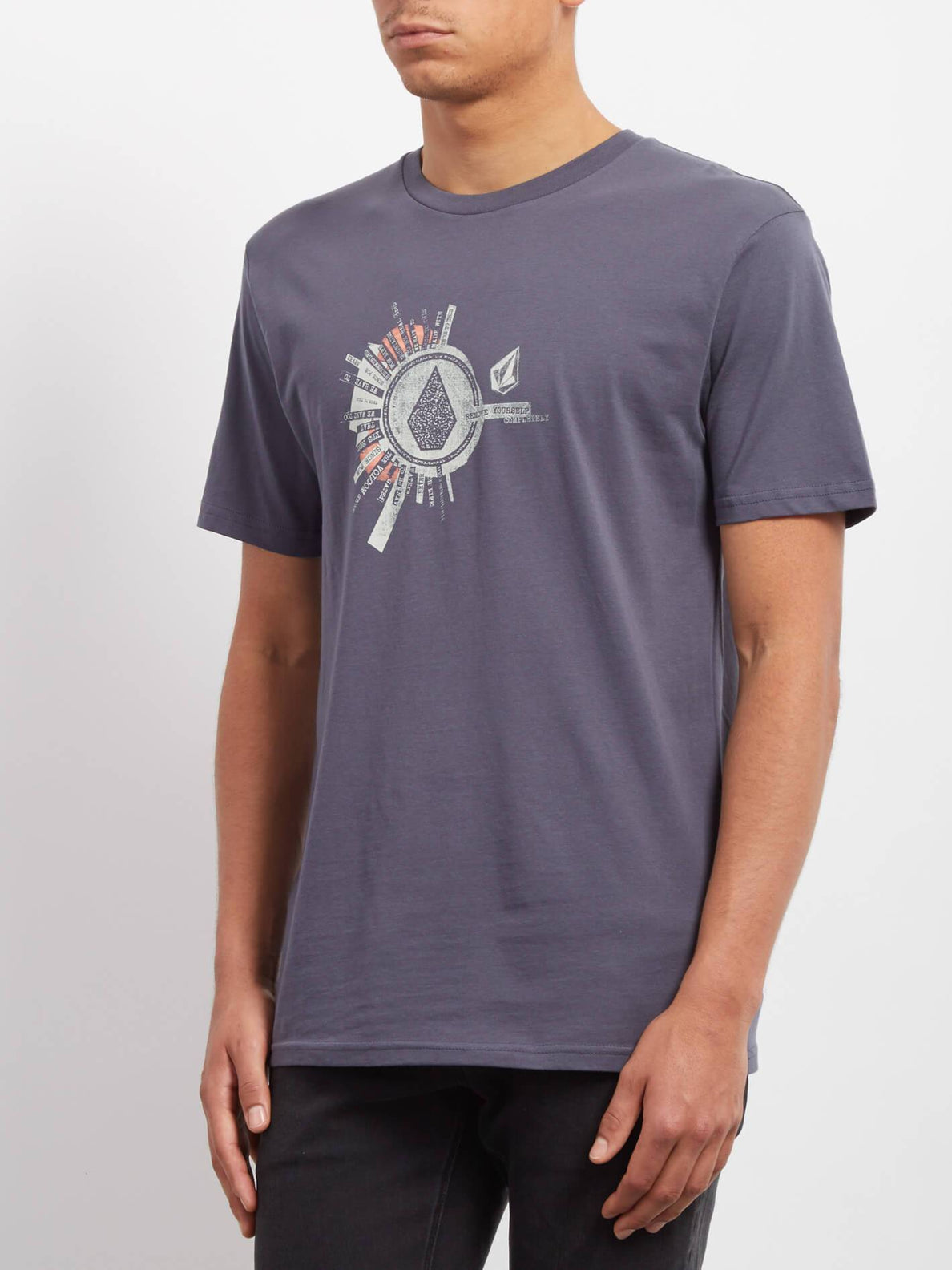 Radiate T-shirt - Midnight Blue