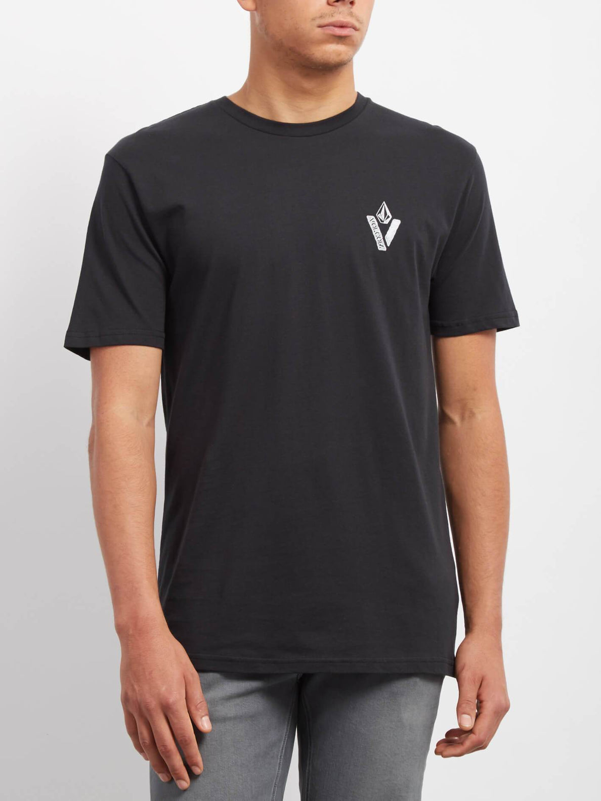 Cut Out T-shirt - Black