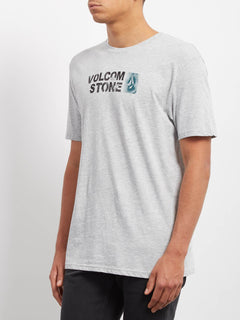 Stence T-shirt - Heather Grey