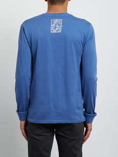 Edge Long Sleeve Tee - Blue Drift