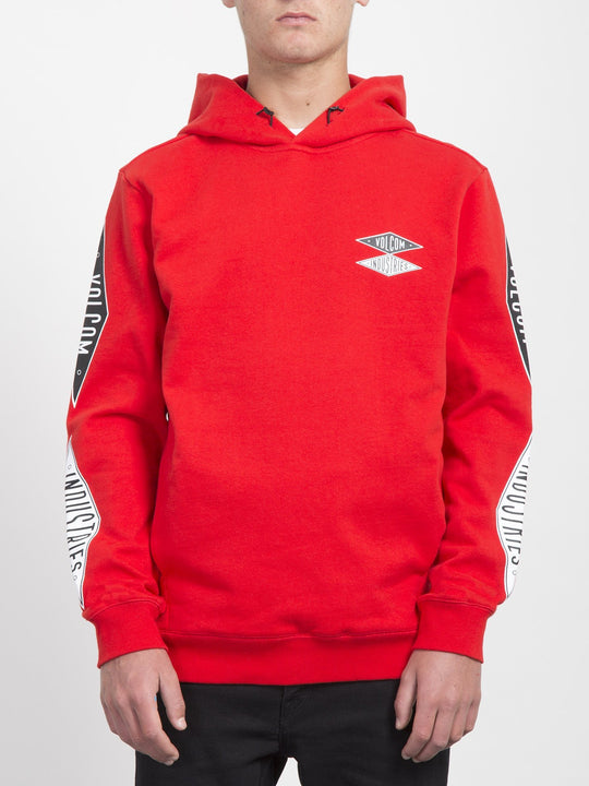 V.I. Hoodie  - Bright Red