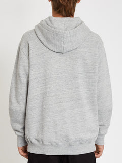 Zero Division Hoodie - Heather Grey (A4112105_HGR) [B]