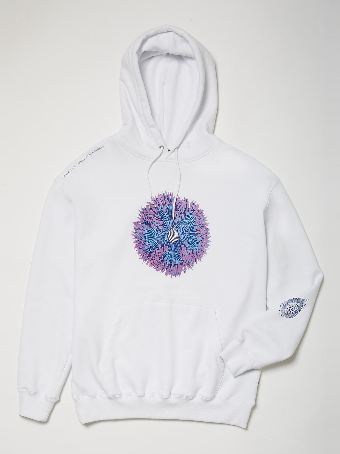 Coral Morph Hoodie - White (A4112116_WHT) [6]