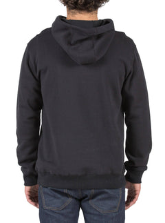 Single Stone Pullover Hoodie - Black